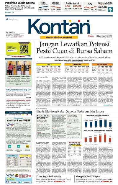 Kontan Harian - 11 November 2020