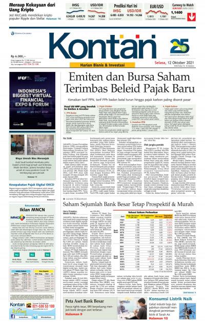 Kontan Harian - 12 Oktober 2021